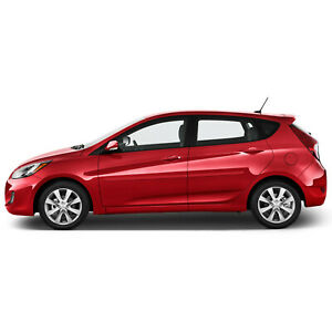 For Hyundai Accent Painted Body Side Mouldings Moldings Trim 2012 2017