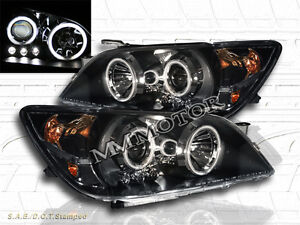 Fit For 01 05 Lexus Is300 Is 300 Projector Headlights Led Black