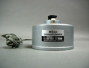 Nikon Microscope Power Transformer 110 115v Free Shipping For Parts As Is