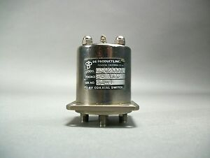 Db Products Inc 4s02001 Rf Sma Coaxial Switch 28 Vdc Free Shipping Used