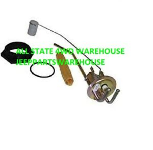 Fuel Sending Unit 1982 1986 Jeep Cj Fits 20 Gallon Factory Plastic Gas Tank