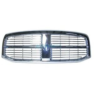 Ch1200281 Fits 2006 2009 Dodge Ram 2500 Front Grille All Chrome