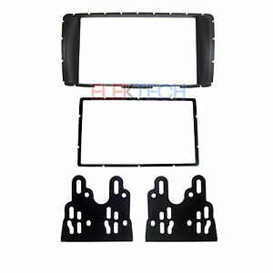 Double Din Dash Mounting Kit Installation Radio Replacement For Toyota Hilux