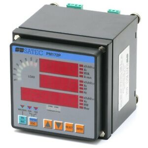 Satec Pm172p brl Feeder Monitor For Real time Power Measurements