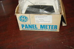 Ge 50 171141mtmt1 Ac Amp Gauge 0 10a Panel Meter New In Box