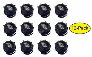 12 pk genuine midwest can co gas fuel gallon diesel black screw cap collars oem