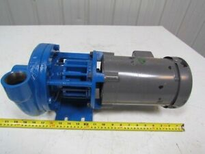 Mp Pumps 31412 1 1 2 x 1 1 4 npt End Suction Centrifugal Pump 1 2hp 3ph