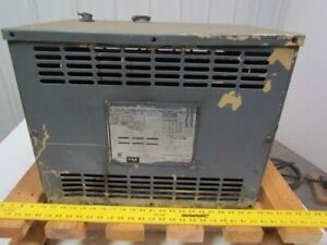 Federal Pioneer 51019 86 15 Kva 3ph Dry Type Transformer Pri 600v Sec 208 120v