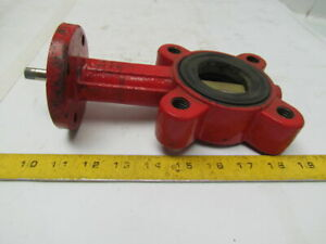 Bray International 1073a 2 Butterfly Valve Ductile Iron Epdm Seal 4 Lug Style