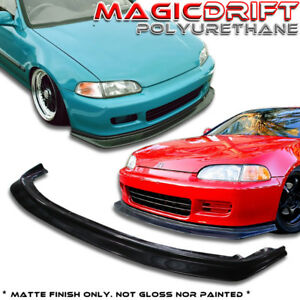 92 93 94 95 Honda Civic Jdm First Dp Style Front Bumper Splitter Lip Fm Molding