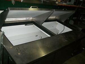 True Sandwich Mega Prep Table 5 Ft Board deviders casters 900 Items On E Bay