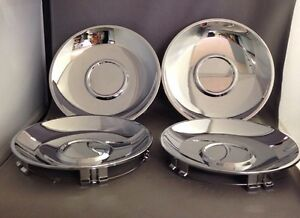 New 2005 2008 Chrysler Pacifica Chrome Hub Wheel Center Cap Set Of 4