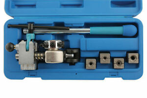 Laser Tools New Brake Pipe Flaring Tool With Clamp Blocks Use With Bench Vice