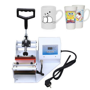 New 11 21 19cm Mat Digital Cup Mug Heat Press Transfer Machine