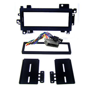 Radio Replacement Dash Mounting Kit 1 Din Harness For Chrysler Dodge Plymouth