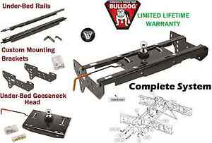 Bulldog Complete Underbed Gooseneck Trailer Hitch System 99 16 Ford F250 F350