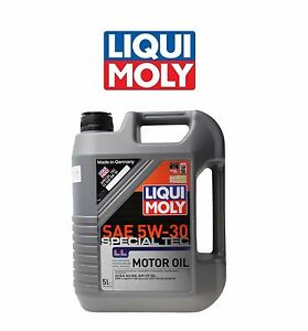 5 Liters Liqui Moly Special Tec Ll 5w 30 Synthetic 5l Engine Motor Oil For Bmw