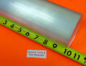 2 1 2 Aluminum 6061 Round Rod 10 Long Solid T6511 Extruded Lathe Bar Stock New