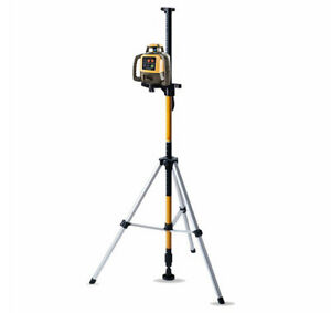 Topcon Rl h5a Self leveling Rotary Grade Laser W Telescoping Laser Pole