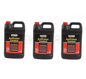 3 gallons Genuine Fits Toyota Antifreeze Coolant red Color Long Life