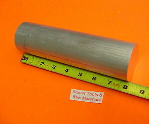2 1 4 Aluminum 6061 Round Rod 8 Long Solid T6511 Extruded Lathe Bar Stock