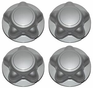 1997 2004 Ford F 150 F150 Expedition Steel Wheel Silver Center Hub Cap Set Of 4