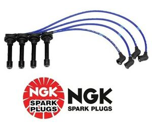 For Acura Integra Ngk 8041 High Performance Spark Plug Wire Set He82