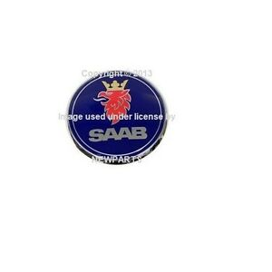 For Saab 9 3 Trunk Emblem Genuine 52 89 889