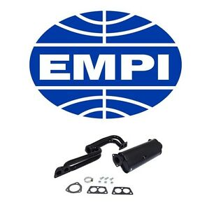 For Vw 411 Campmobile Transporter Exhaust System Kit Empi For Vw 780 2026 New