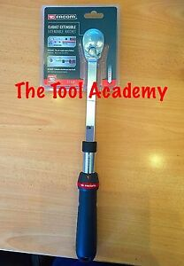 Facom Tools New 1 2 Drive Extending 8 Position Locking Reversible Ratchet