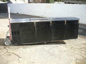 Back Bar Beer Cooler No Tower 1o8 Glass Tender S s Top 115 900 Items E Bay