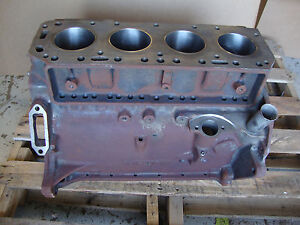 600 601 640 641 650 651 660 661 2000 Ford Tractor 134 Engine Block New Sleeves