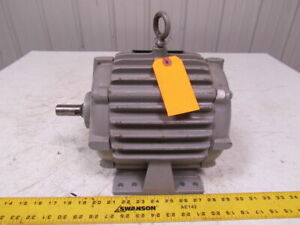 Delco Ec1104 1hp 1750rpm 460v 3ph Electric Motor 182 Frame