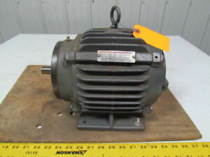 Emerson Us Motors A1p3c E066b 1hp 3ph Electric Motor 1170rpm 460v 184 Frame