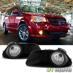 2011 2017 Dodge Grand Caravan Bumper Fog Lights Driving Lamps Switch Left Right