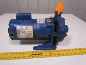 Goulds 1bf10712 3462 Centrifugal Pump 1x1 1 4 5 3 4hp 115 230v