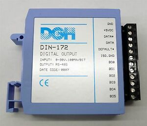 Dgh Data Acquisition Din 172 Digital Input Output Modbus Rtu Protocol Module