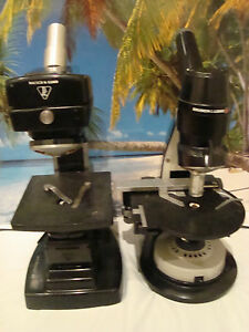 Bausch Lomb Microscope Microscope 2 Units