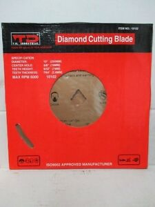 10 Diamond Cutting Blade Wet Continuous Rim 5 8 For Tile Masonry 10102 wh42