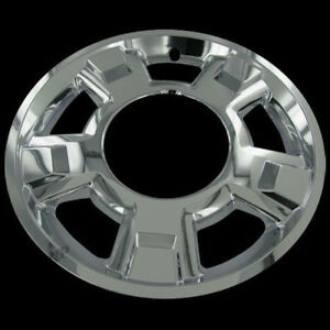 For 2009 14 Ford F 150 17 Chrome Wheel Skins Hubcaps Covers Hub Caps Set