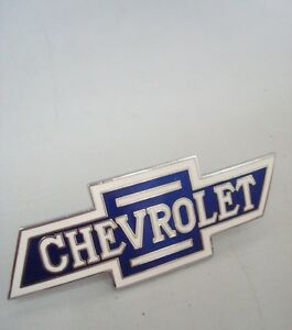 1932 Chevrolet Small Bowtie Radiator Grille Emblem Chevy 1933 Pickup Truck