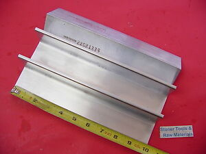 3 Pieces 2 x 2 x 1 4 Aluminum 6061 Angle Bar 10 Long T6 Extruded Mill Stock