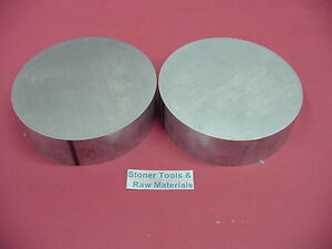 2 Pieces 3 Aluminum 6061 Solid Round Rod 1 Long New Extruded Lathe Bar Stock