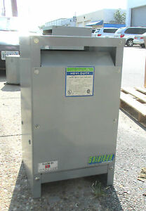 Hevi duty Gen Purpose Transformer 25 Kva Cat S1823h25s 1 Ph Od 339