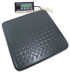 My Weigh Hd300 X 0 1 Lb ac Heavy Duty Shipping Scale Postal Bench Floor Postage