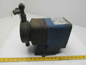 Pulsatron Lph7sa wts3 xxx Chemical Metering Diaphragm Pump Pulsafeeder 35psi