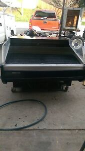 Open Reachin Cooler 48 Wide 115 V Low Clearance Veg etc 900 Items On E Bay