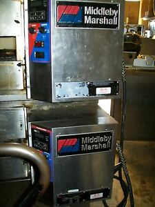 Middle Be Marshal Electric Pizza Oven Double 3 Ph Complete 900 Items On E Bay