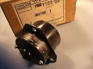 Mg Mgb Mgb Gt Factory Original Heater Motor Nos