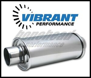 Vibrant Performance 1140 Ultra Quiet Resonator 2 25 Inlet oulet